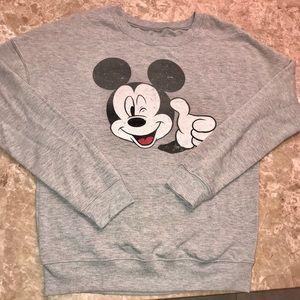 Mickey Mouse Crew Sweatshirt!